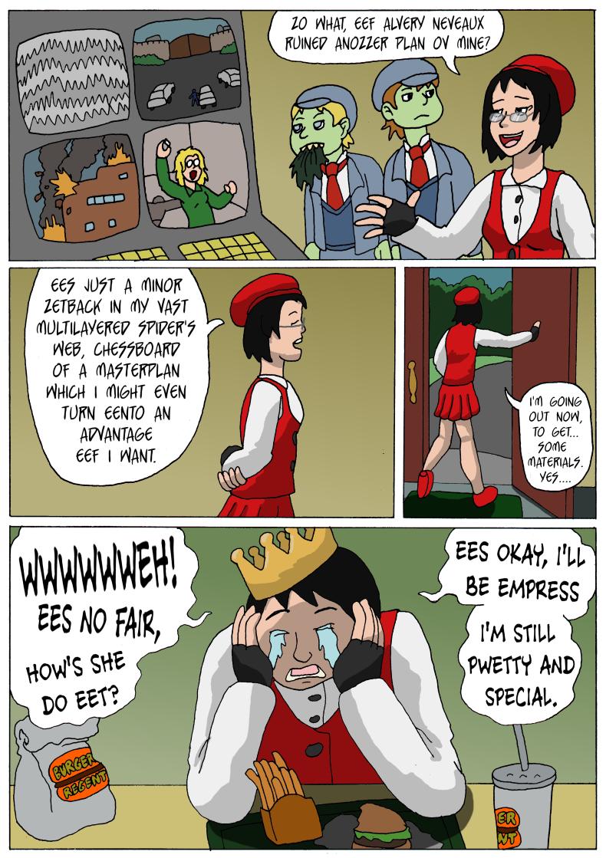 "Guest comic by Kyrtuck! ""Ardrienne's Secret Shame"""